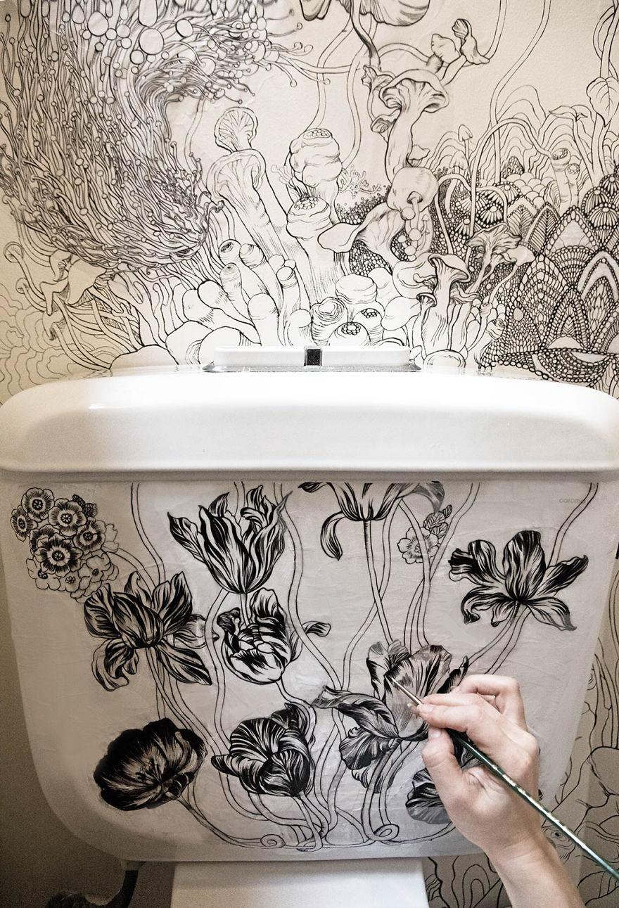 elle-transforme-ces-toilettes-en-un-endroit-magique-8