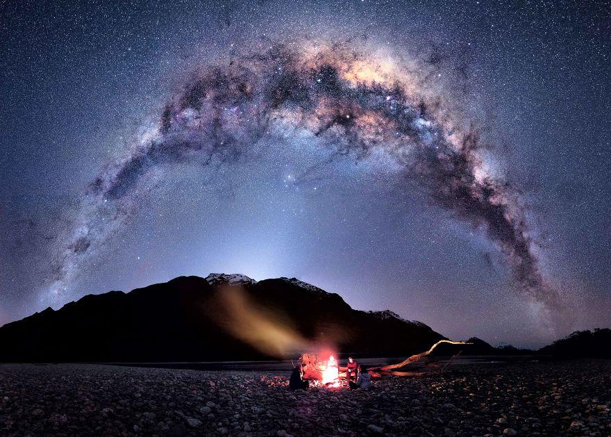 ils passent l 39 hiver en nouvelle z lande pour photographier le ciel de nuit. Black Bedroom Furniture Sets. Home Design Ideas