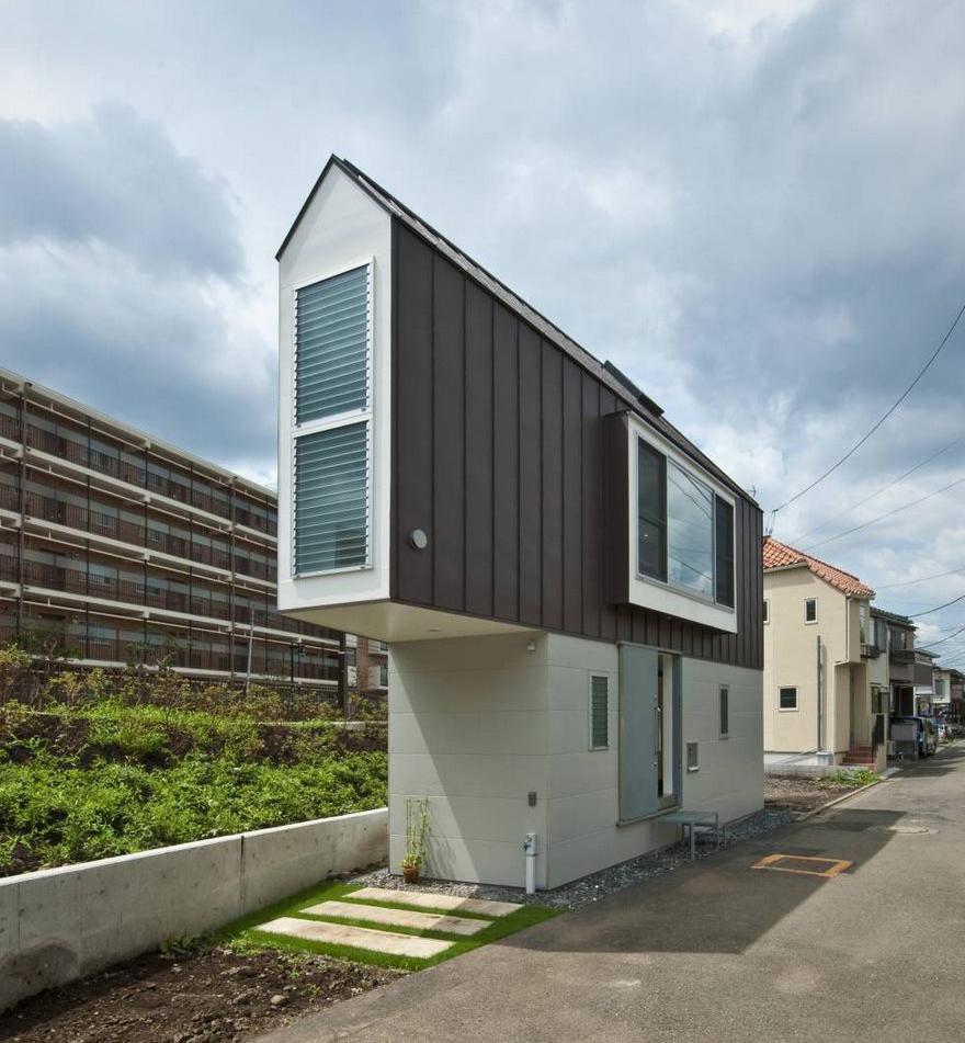 Cette étroite maison japonaise semble minuscule jusquà ce que vous regardez à lintérieur
