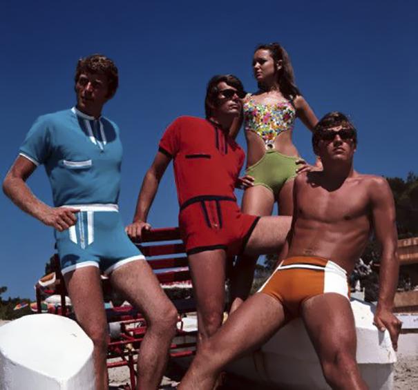 Ces photos des shorts des années 1970 montrent une tendance de mode oubliée