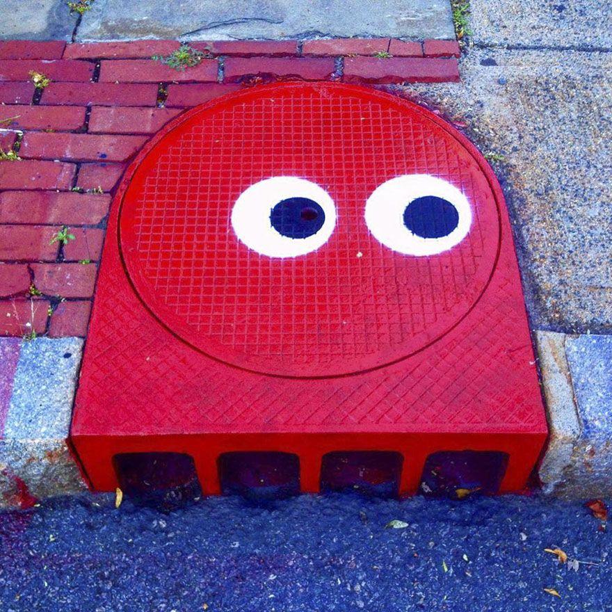 A New York, un artiste de rue transforme le quotidien en art