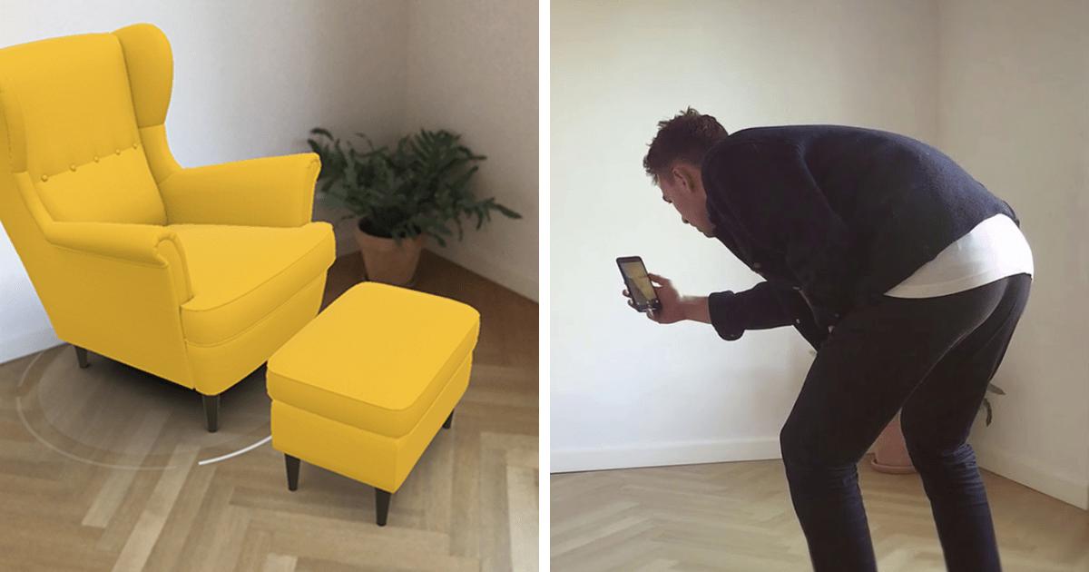ikea lance une nouvelle application qui vous permet d 39 essayer des meubles dans votre maison. Black Bedroom Furniture Sets. Home Design Ideas