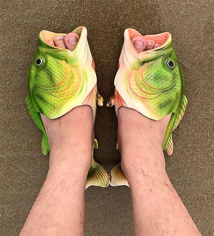 Ne faites pas d'erreur, ces chaussures sont super bizarre