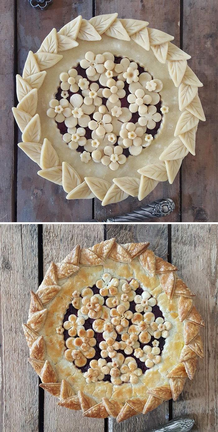 Ces étonnantes photos avant et après de tarte vous donnerons l'eau à la bouche