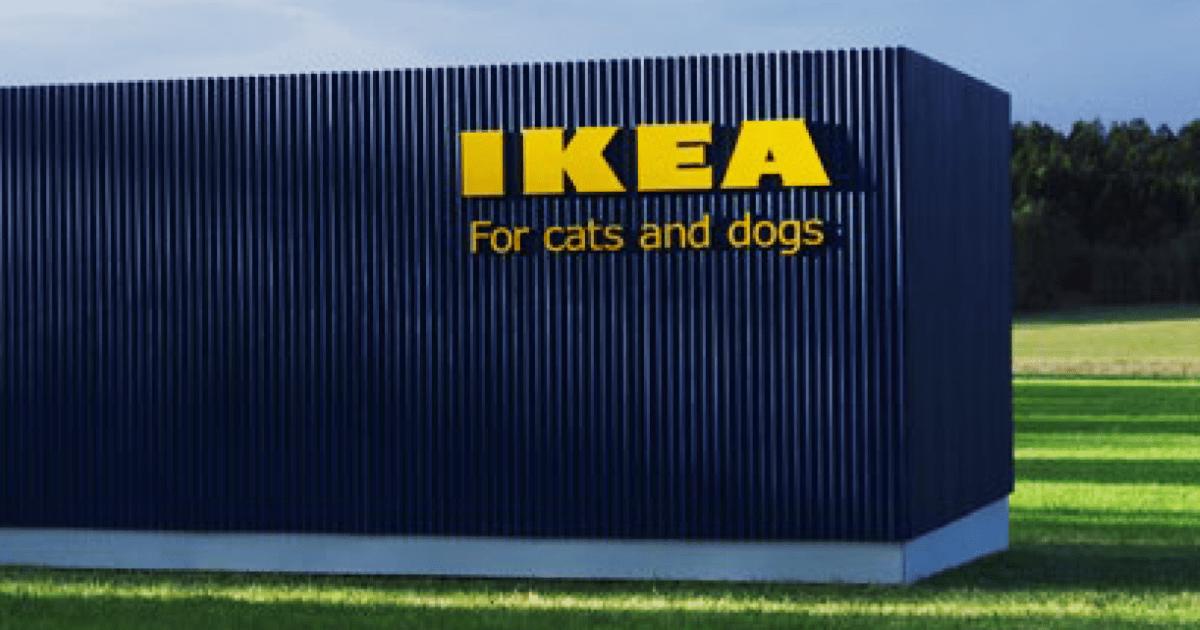 ikea vient de lancer une collection de meubles pour animaux de compagnie afin que les chats et. Black Bedroom Furniture Sets. Home Design Ideas