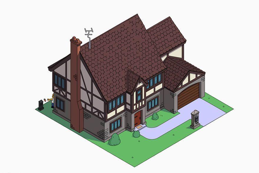 Cu0027est Ce Qui Se Passerait Si Homer Simpson Engageait Des Architectes Pour  Construire Sa Maison