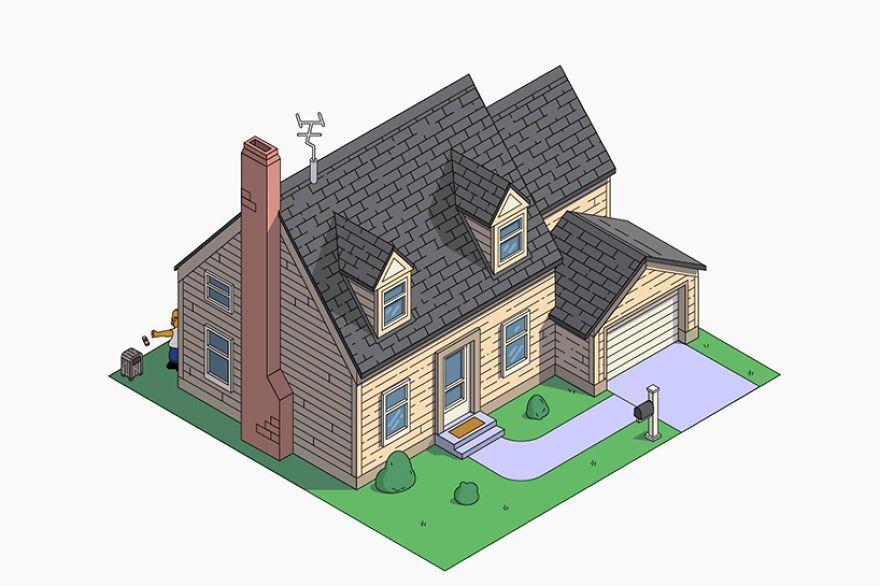 Est Ce Qui Se Passerait Si Homer Simpson Engageait Des Architectes
