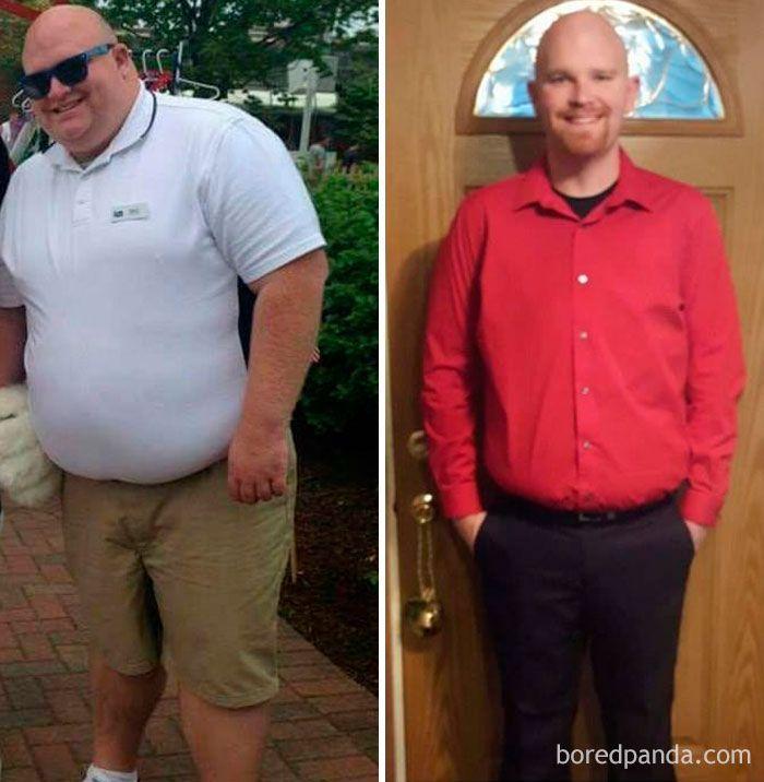Des photos avant et apr s une perte de poids qui sont - Perte de poids apres retour de couche ...