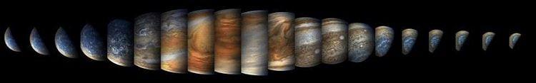 La NASA capture des photos étonnantes de Jupiter après avoir complété avec succès son huitième Flyby