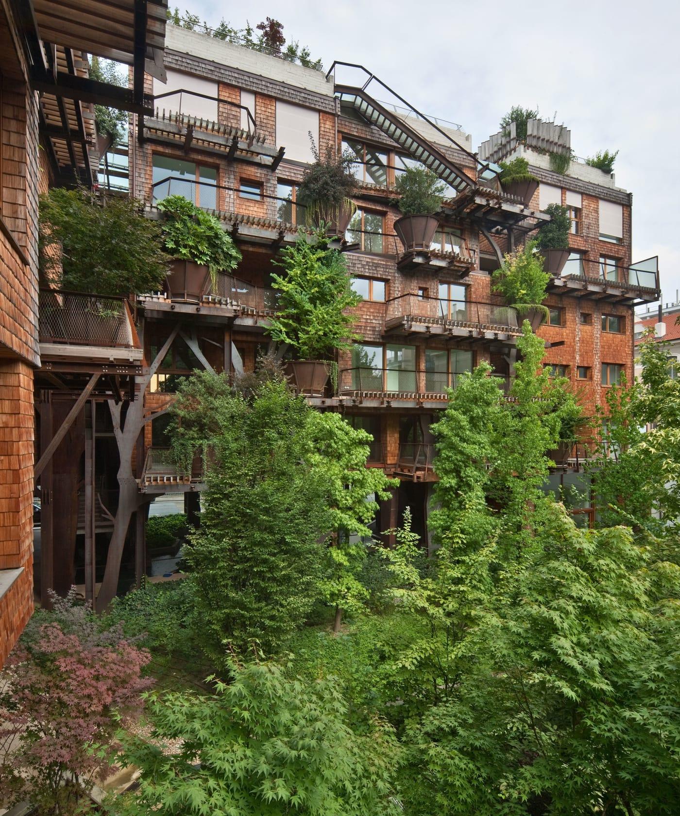 Cette cabane urbaine en Italie est un rêve devenu réalité pour les adultes éco-conscients!