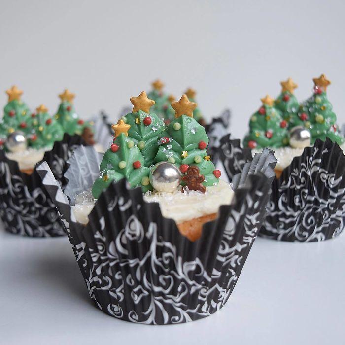 Plus de 30 idées les plus créatives pour des cupcakes de Noël
