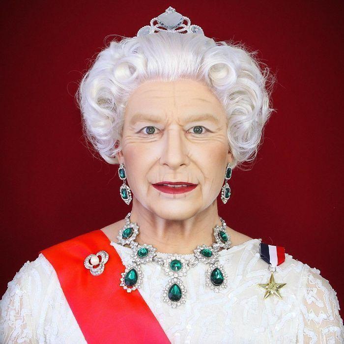 Une Drag Queen de Manchester est si bon en maquillage, qu'il peut se transformer en littéralement toutes les célébrités