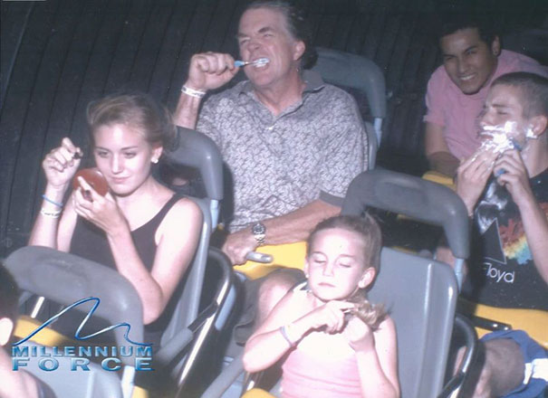 Plus de 30 photos de montagnes russes qui vous feront mourir de rire!