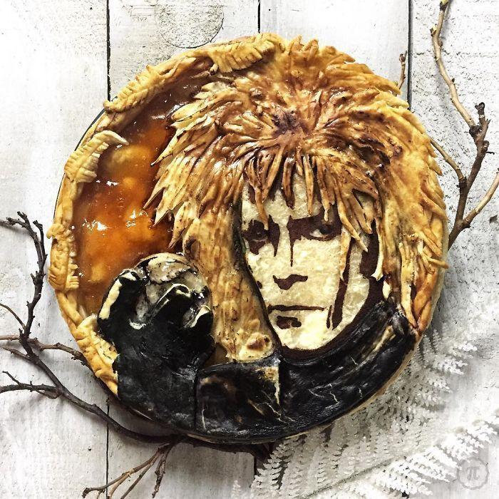 Une artiste de la pâtisserie crée des tartes inspirées par les personnages de la culture populaire
