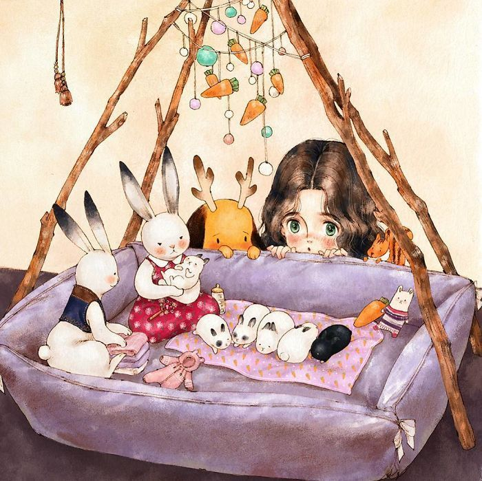 Plus de 25 illustrations qui capturent parfaitement le bonheur de vivre seul