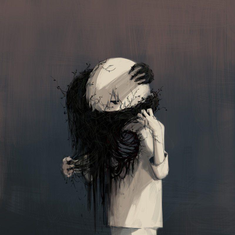 Un artiste japonais dessine des sentiments que tout le monde a eu au moins une fois mais n' a pas pu décrire