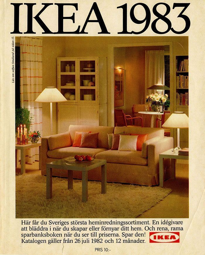 À quoi ressemblait la maison parfaite de 1951 à 2000, selon les catalogues IKEA.