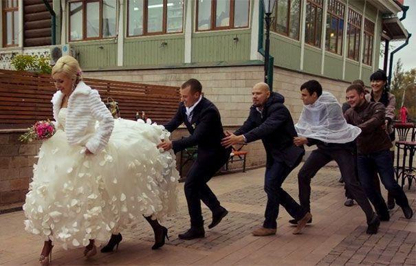 Plus de 30  photos gênantes de mariage russe qui sont si mauvaises qu'elles sont géniales
