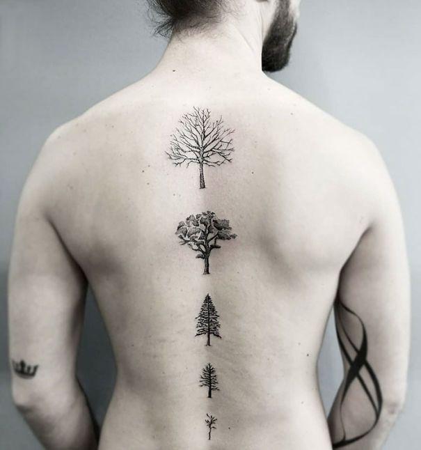 20+ des meilleures idées de tatouage de la colonne vertébrale