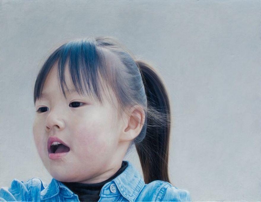 Ces peintures hyperréalistes d'un artiste japonais sont si précises que vous pourriez les confondre avec des photos.