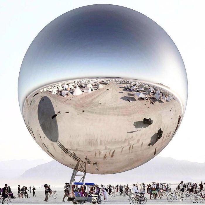 59+ Photos épiques de Burning Man 2018 qui prouvent que c'est le festival le plus fou au monde.