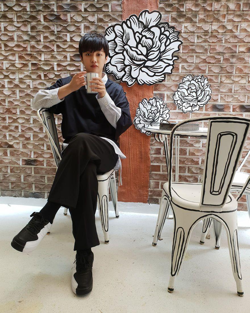 Ce café inhabituel à Séoul vous donne l'impression d'être dans une BD.