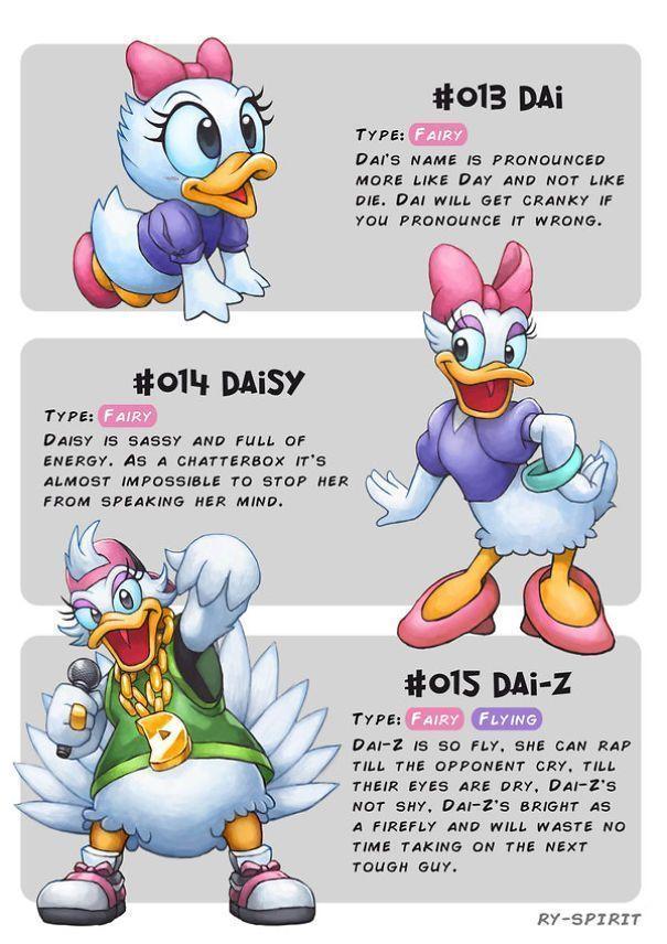 Ce dessinateur transforme 19 personnages Disney en évolution Pokémon.