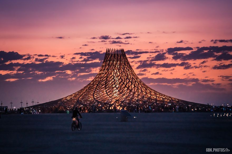 D'incroyables photos du Burning Man 2018