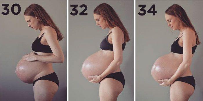 Voici ce que 3 enfants grandissant dans un ventre fait à votre corps