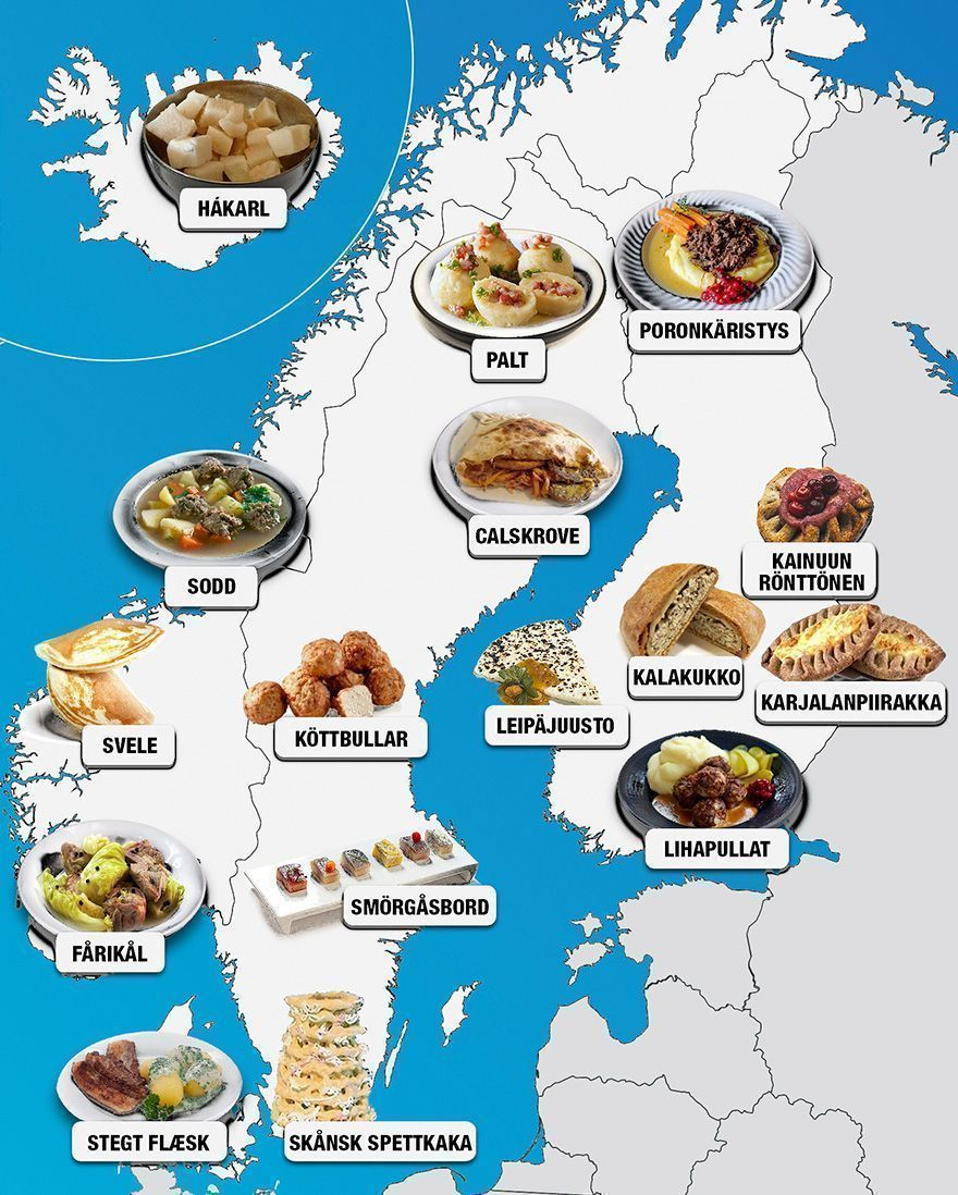 30 cartes montrent les meilleurs repas autour du monde et vous voudrez les essayer tous