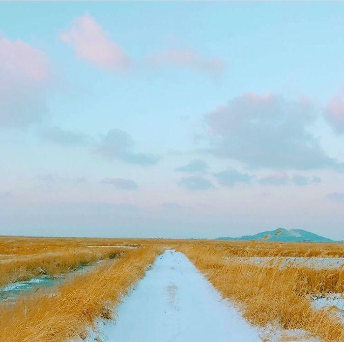 21 photos minimalistes par V de BTS