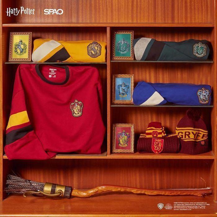 Une marque coréenne collabore avec Warner Bros pour lancer une collection Harry Potter inspirée des années 90