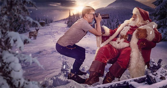 These Photographers Organize Magical Christmas Photoshoots For Children In Hospitals, As For Some It Might Be Their Last