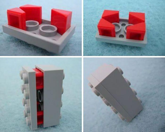 Les gens affichent des techniques de construction LEGO