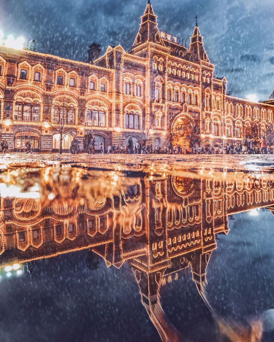 Moscow Looks Like A Fairytale During Winter And I Captured It's Beauty In 28 Photos