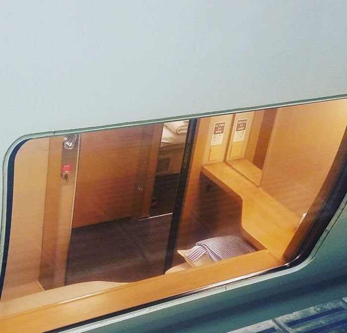 In The 70s Japanese People Were Traveling In Sleeper Trains With Unique Interiors And Some Still Remain Today