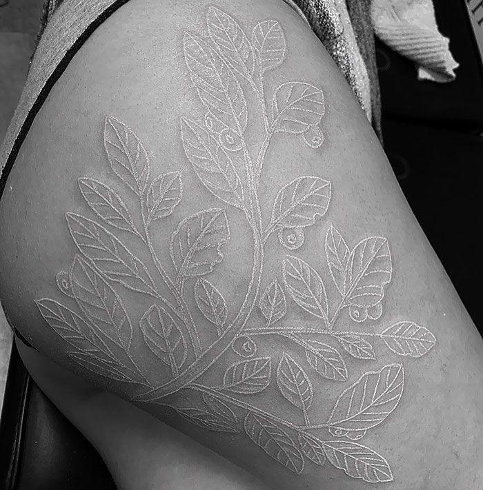 63 Beautiful White Tattoo Designs