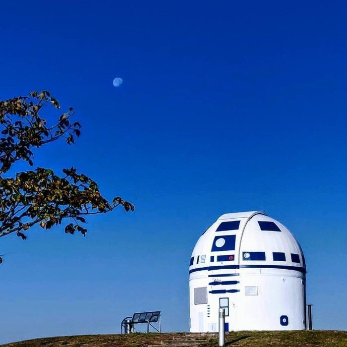 University Profesor Channels The Force To Transform The Zweibrück Observatory In Germany Into Giant R2-D2