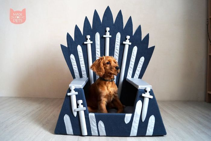 Handmade Game Of Thrones Beds For Pets Who Rule The Household