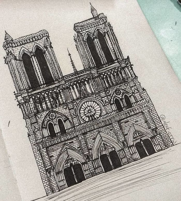 30 Artists' Tributes To The Iconic Notre-Dame Cathedral