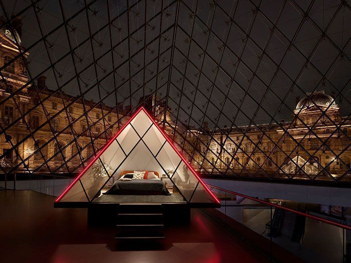 Airbnb Is Offering A Unique Chance To Spend A Private Night In The Louvre Pyramid