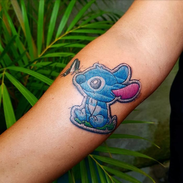 Apparently, Embroidery Tattoos Are A Thing And They Look Too Realistic (60 Pics)