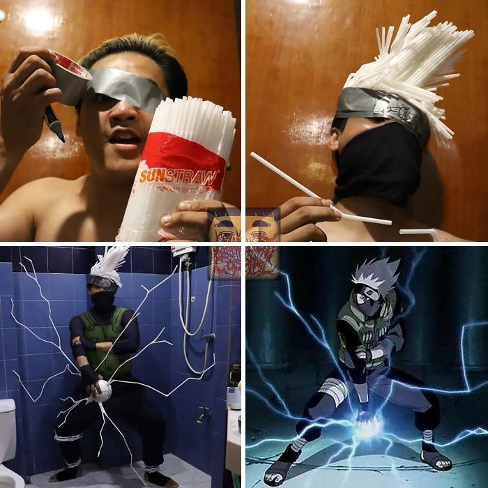 Cheap Cosplay Guy Strikes Again With Low-Cost Costumes From Household Objects (62 Pics)