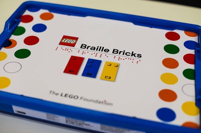 LEGO Releases Braille Bricks For Blind And Visually Impaired Children
