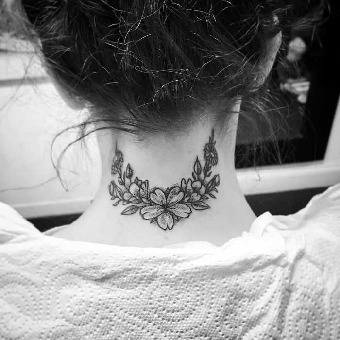 154 Amazing Neck Tattoo Ideas