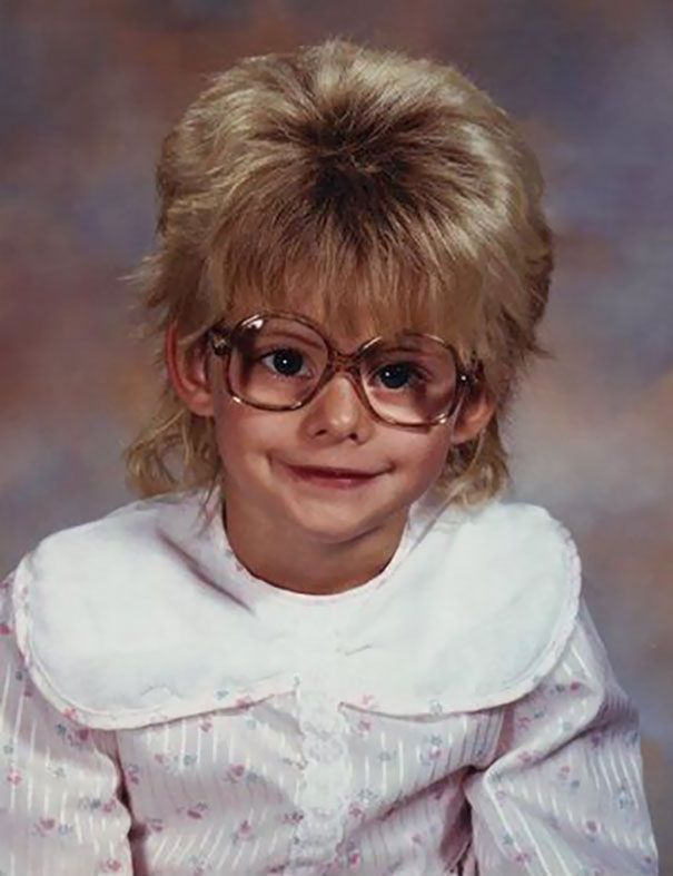 30 Embarrassing Childhood Photos Where Kids Look A Couple Of Decades Older