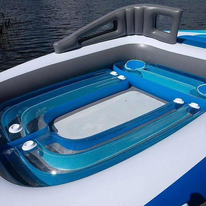 Amazon's Life-Size Inflatable Speedboat Will Make You Feel Like A Millionaire