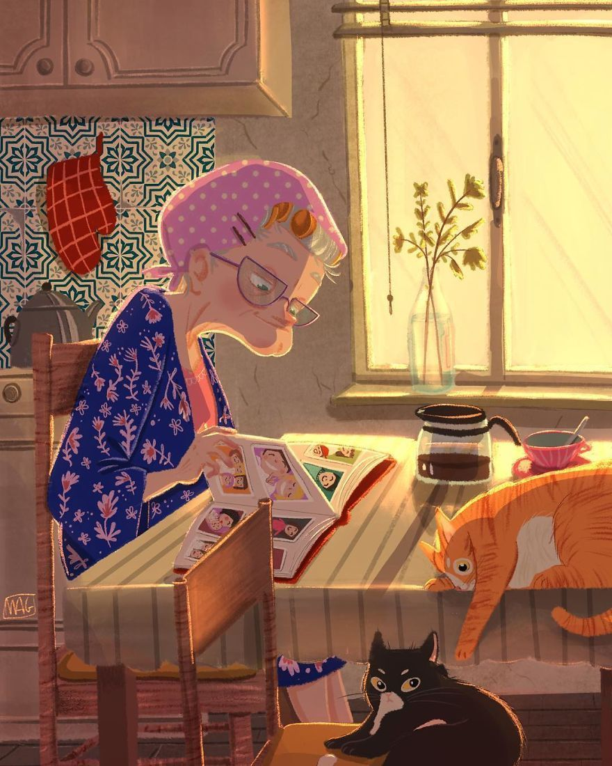 Italian Illustrator Shows The True Colors Of Cats That Prove How Adorable They Can be (30 Pics)