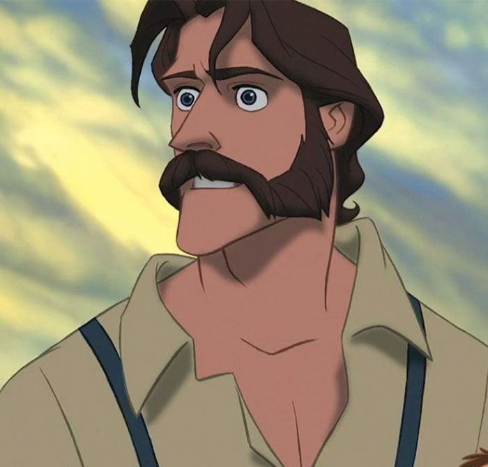 Artist Draws 5 Disney Dads As If They Were Real Humans