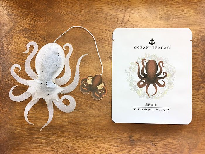"Japanese Company Creates Sea Creature Teabags That ""Come Alive"" Inside Your Cup"
